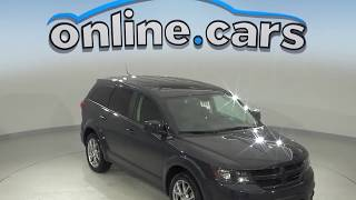 A10076TA Used 2017 Dodge Journey GT AWD SUV Test Drive, Review, For Sale