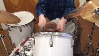 JC Learns to Play the Drums