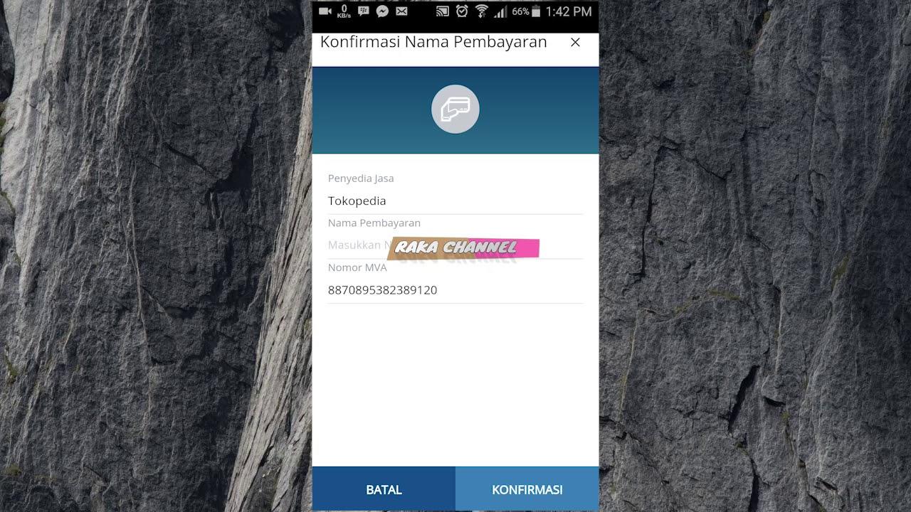 Cara Menggunakan Virtual Account Di Internet Banking Dan Mobile Manking Bank Mandiri Youtube