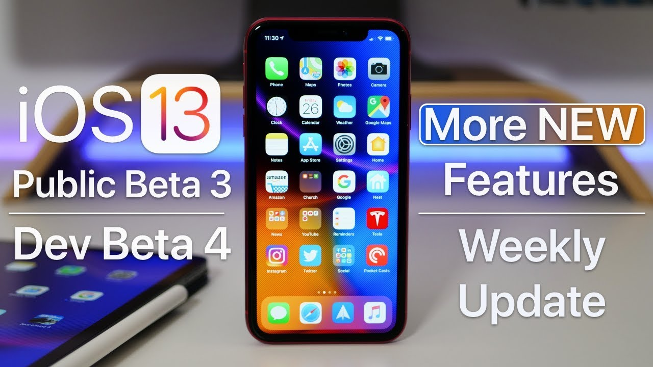 iOS 13 Public Beta 3 & Dev Beta 4 – New Features and Weekly Update