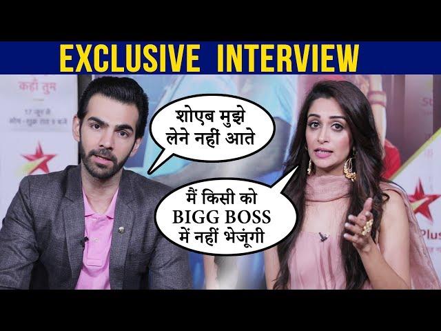 Dipika Kakar & Karan V Grover on Kahan Hum Kahan Tum, Role, Saif Ali Khan, Bigg Boss| EXCLUSIVE