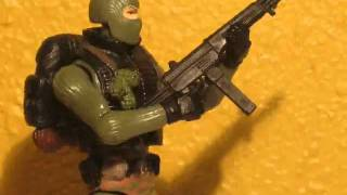 G.I.Joe Stop Motion Load-Up Battle