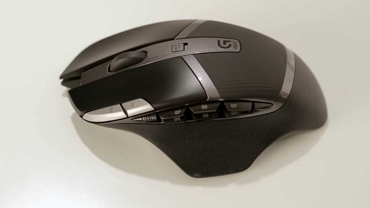 Logitech G602 Wireless Gaming Mouse Youtube