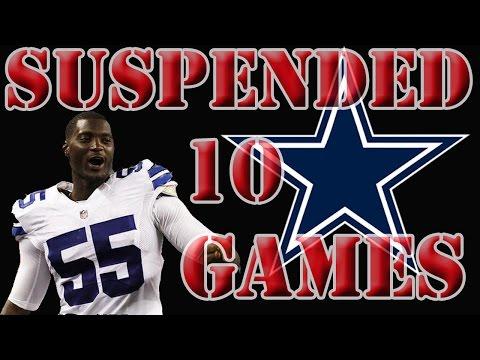 Rolando McClain Suspended 10 Games | Dallas Cowboys Talk 2016 | Madden 16 Gameplay
