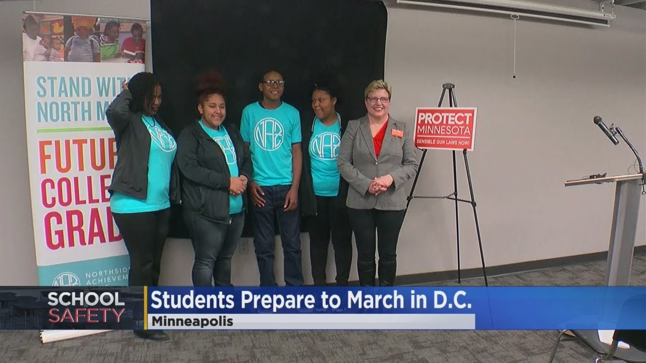 North Minneapolis Students Heading To 'March For Our Lives' Event
