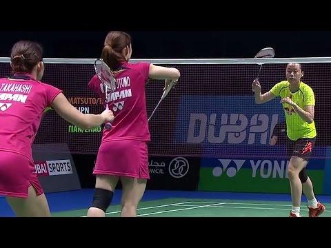 M.Mat/A.Tak v T.Qin/Z.Yun |WD| Day 5 Match 2 - BWF Destination Dubai 2014