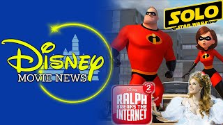 Plots Details Revealed for Incredibles 2 and SOLO- Disney Movie News 98