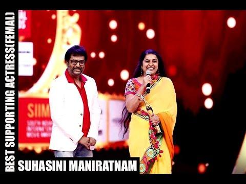 Micromax Siima 2015   Best Supporting Actress (Female) Kannada   Suhasini Maniratnam