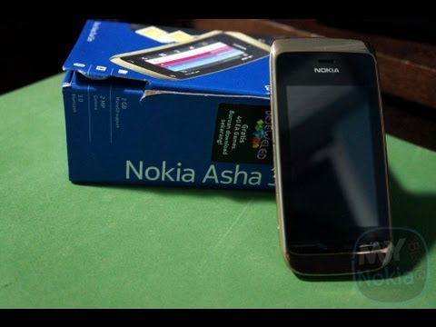 Unboxing Nokia Asha 308- Dual Sim, Full Touch S40 (HD)