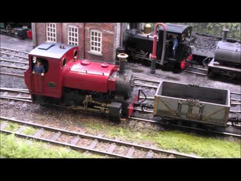 Hambleden Valley Railway - Jack shunting the yard