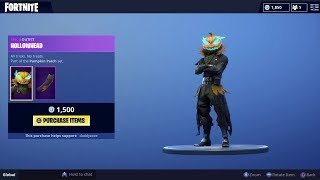 Buying The New HollowHead Skin Fortnite