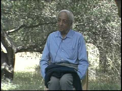 J. Krishnamurti - Beyond Myth & Tradition 8 - Conditioning: prisoners of the past