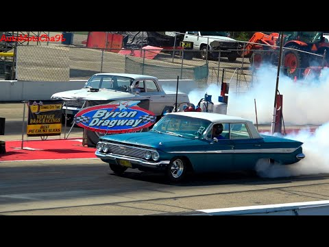 ULTIMATE VINTAGE DRAG RACE OLD SCHOOL GASSERS 60S CARS NOSTALGIA SUPER STOCK AND CAR SHOW