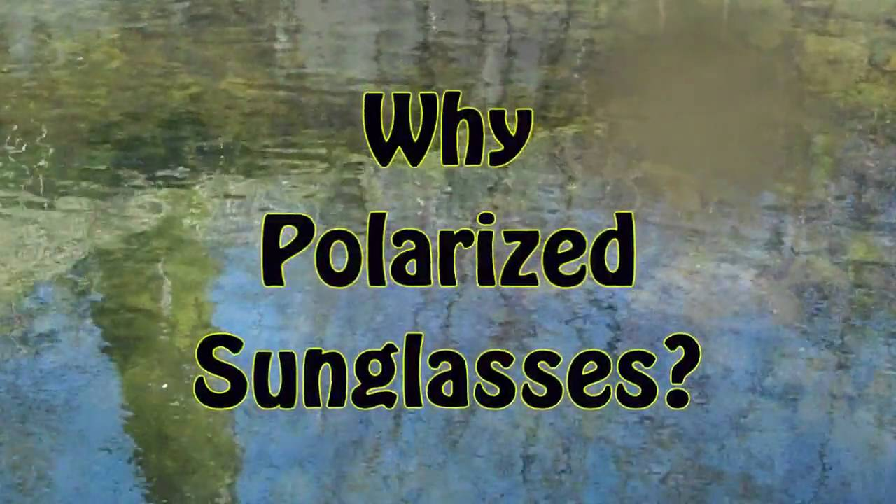 polarised sunglasses fishing  TROUTSIDERS: Why Polarized Sunglasses? - YouTube