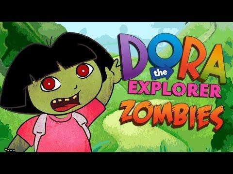 Call of Duty Zombies ★ DORA THE ZOMBIE EXPLORER