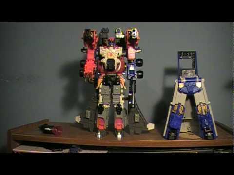 How to Combine Armada Optimus Prime, Jetfire and Overload