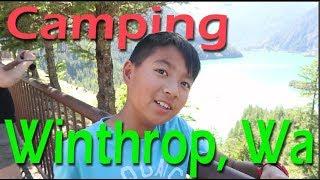 Camping in Winthrop Washington, Cascade Mountains