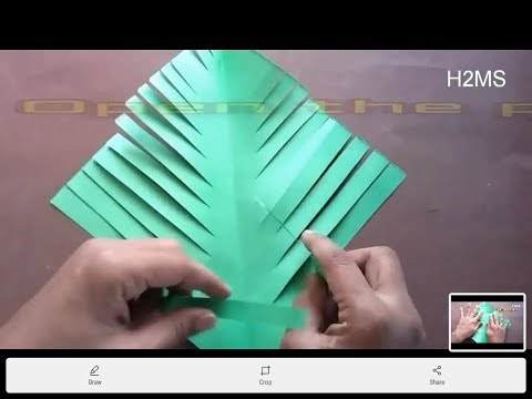 How to make simple Christmas Tree l howtomakesimple paper craft l DIY craft ideas,Christmas special