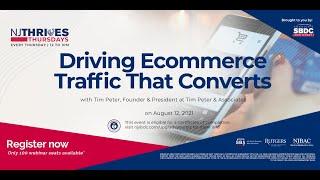NJTT #015: Driving Ecommerce Traffic That Converts