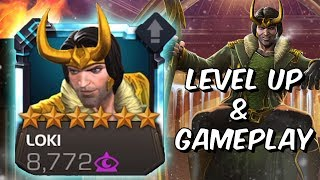 6 Star Loki Level Up, Abilities & Gameplay - Marvel Contest Of Champions