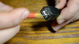 Установка USB разъема с подсветкой в машину своими руками.