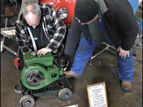 Marshall Single Cylinder Diesel Engine