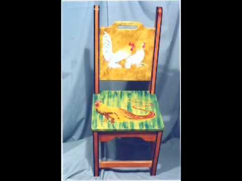 Hand painted furniture and murals