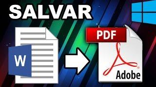salvar arquivo do word para pdf