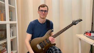 4 года учусь игре на гитаре немного истории и о том как разыгрываюсь как учу новые песни