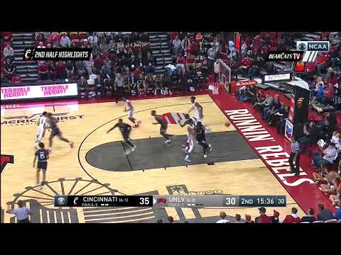 Men's Basketball Highlights: Cincinnati 65, UNLV 61 (Courtesy CBS Sports)