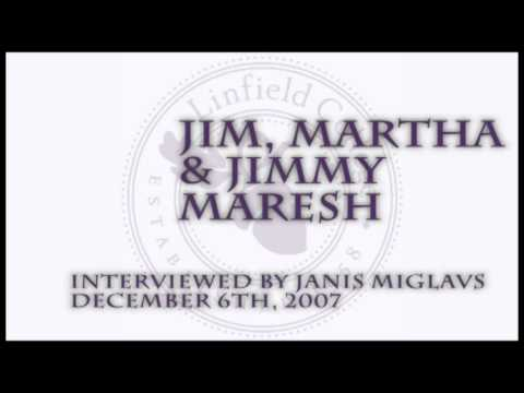 Janis Miglavs Oral History Interview: Maresh Family