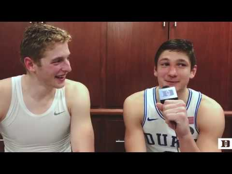 DBP Exclusive: Jack White and Grayson Allen After ND Win (1/29/18)