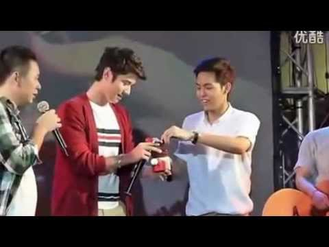 Mario surprised Pchy on his concert @Siam square