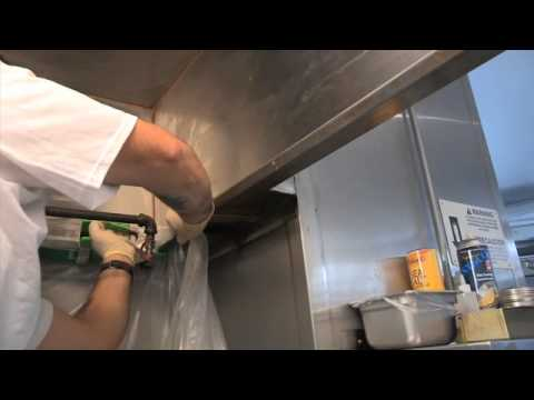 Tarpgator Demonstration Fastest Way To Clean A Kitchen