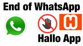 End of Whatsapp ? | Privacy Issue | HalloApp Review | maddyviews screenshot 1