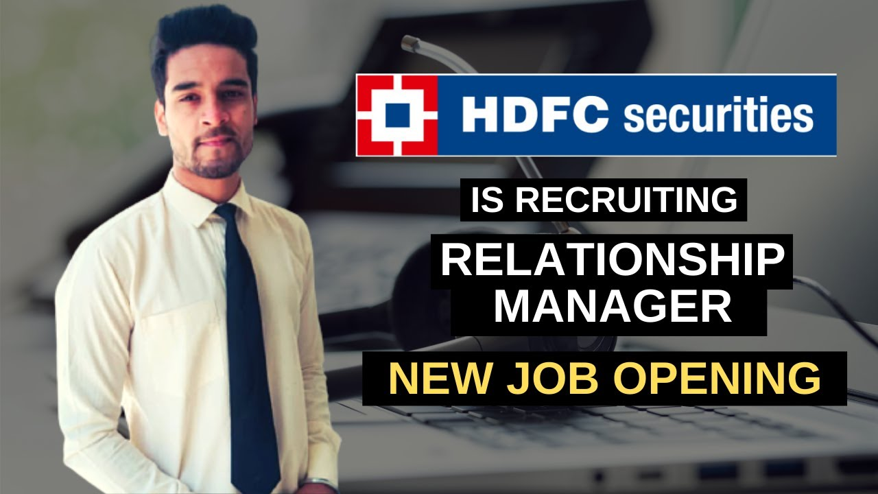 HDFC Bank Recruitment 2020 | HDFC Bank Jobs For Freshers | Relationship Manager Job | HDFC Careers
