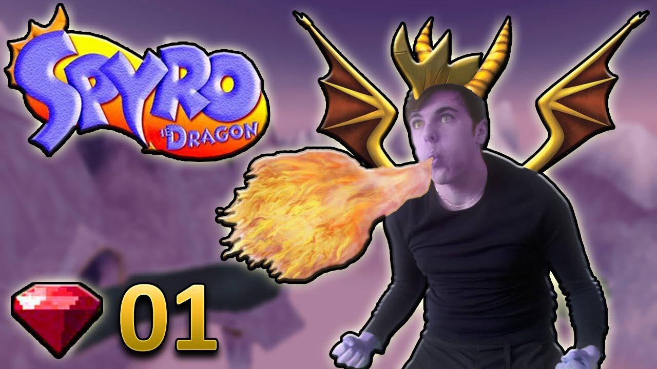 jeux spyro the dragon play 1