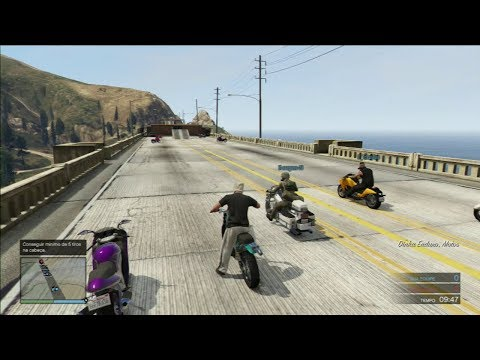GTA V DEATHMATCH PS3-RPG Vs RPG SPEED TUNNEL NO COMMENTS