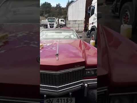 Driv Industri vasker Cadillac Eldorado