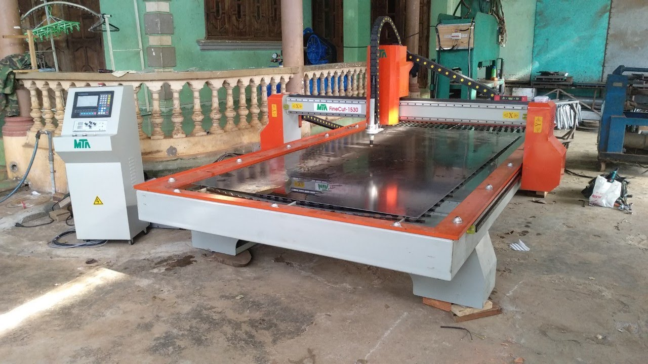Lắp đặt máy cắt plasma cnc MTA FineCut – 1530 tại Chư Sê – Gia Lai