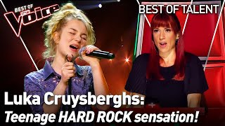 16-Year-Old ASTONISHES everyone with an EXTRAORDINARY Blind Audition in The Voice