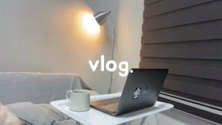 vlog | 집순이의 힐링하는 루틴 / 토마토리조또, …