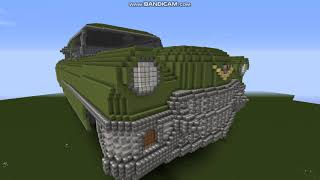 Minecraft  oldtimer car ('50-'60 )