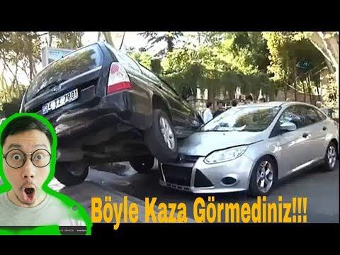 Böyle Kaza Görmediniz !!! En Akılalmaz Trafik Kazaları (Araba kazaları)