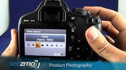 Canon Rebel T2i/550D: Product Photography