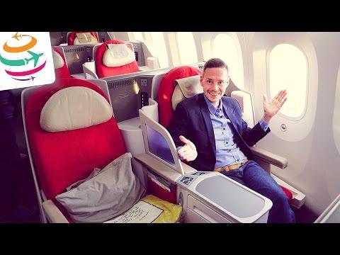 Ethiopian Business Class (ENG) 787-8   GlobalTraveler.TV
