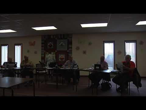 Oakland-Wawanesa Council Meeting Video March 20, 2018