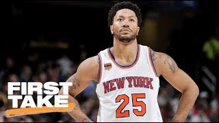 Can derrick rose help cavaliers compete with warriors? | first take | espn