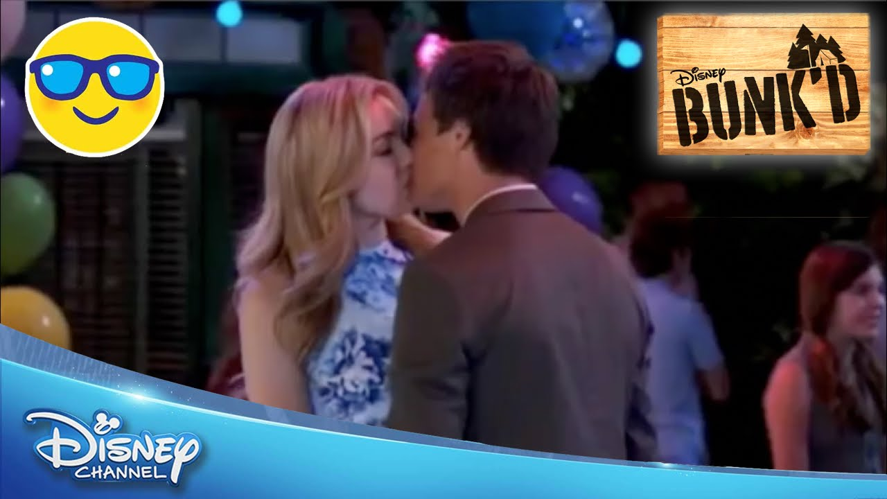 Bunkd Emma And Xander Kiss Official Disney Channel Us Youtube