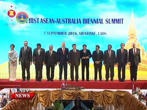 Lao NEWS on LNTV: Historic moments, Asean spotlight shines on Laos.14/9/2016